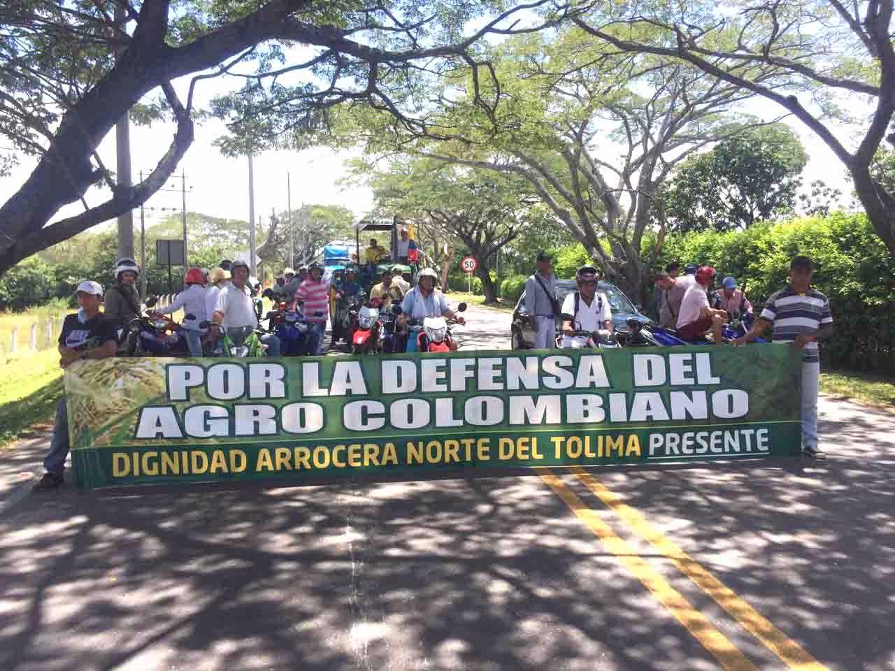 En Arauca inició el paro de arroceros
