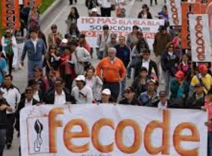 Alegando incumplimiento del Gobierno, maestros van a paro por 48 horas