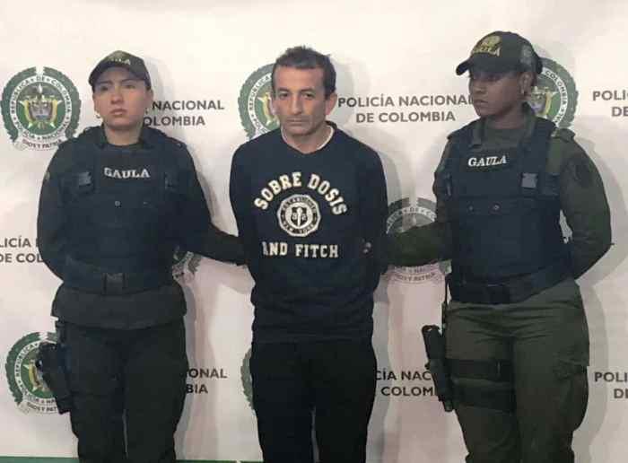 Capturan presunto responsable de feminicidio por celos en el centro de Bogotá