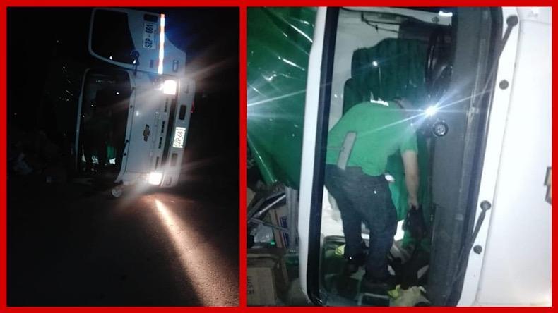 Bus accidentado 29 07 21