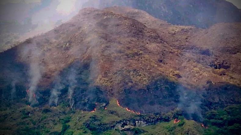Incendios en el Tolima
