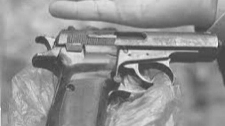 Suicidio arma de fuego